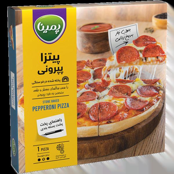 پیتزا پپرونی مخصوص